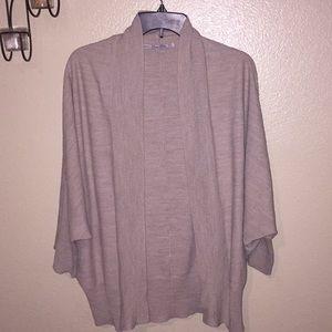 ZARA Oversized Knit cardigan sweater size M